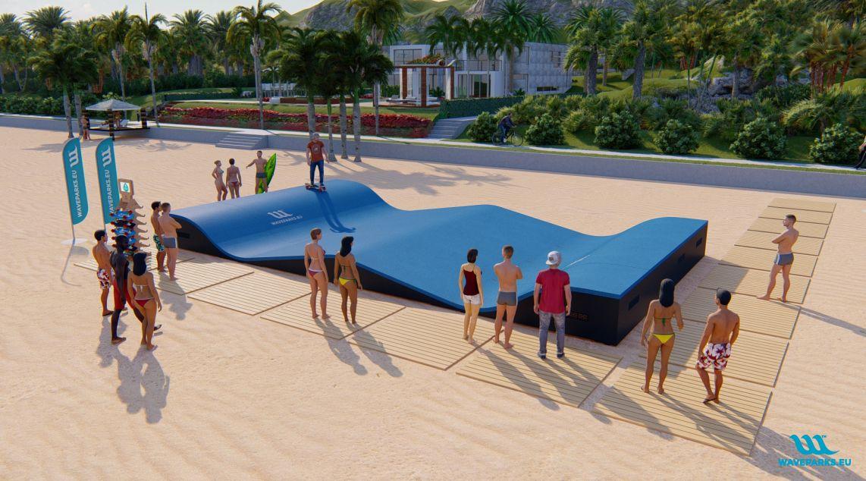 Waveparks - Carver skateboard